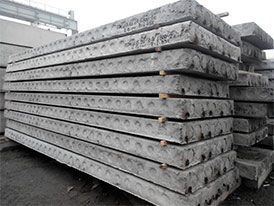 Плиты перекрытия железобетонные многопустотные 2ПТМ 24.12.22-12.5 S1400-1-W