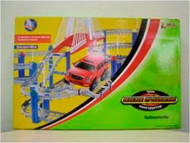 Набор Скоростное шоссе, машинка в комплекте AT18806