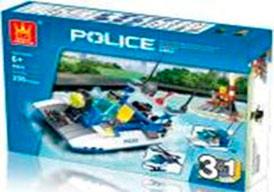 Конструктор'Полиция 3 в 1' (205дет.)