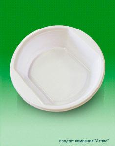 Тарелка пластиковая ЭКСТРА ф 170мм 0,5 л 50/850