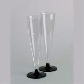 Фужер для шампанского 'Прозрачный', 150мл, 6/450