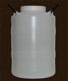 Бочка полиэтиленовая 50 л диаметр горловины 185 мм