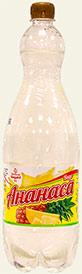 Напиток безалкогольный газированный Вкус Ананаса 1,5 л