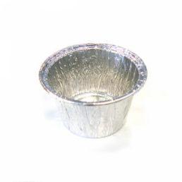 Контейнер из пищевой алюминиевой фольги CN21G D=87, H=38 135 мл