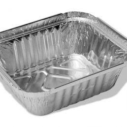 Контейнер из пищевой алюминиевой фольги R28L 144*119*40 430 мл