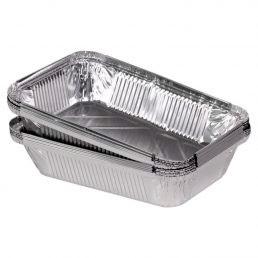 Контейнер из пищевой алюминиевой фольги SP88L 253*187*54 2000 мл