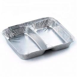 Контейнер из пищевой алюминиевой фольги SPM2L 227*177*30 520/320 мл