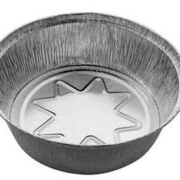 Контейнер из пищевой алюминиевой фольги SPT546L d=205, h=57 1440 мл