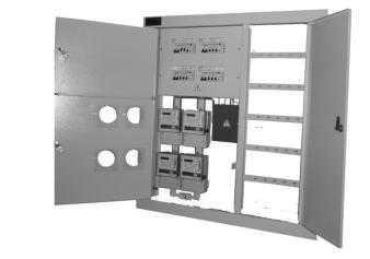 Щит этажный ЩУР-8 со слаботочной секцией - Механический завод ООО (Беларусь)