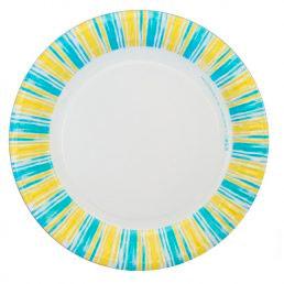 Тарелка бумажная ГИФТ (д=170, д=210, д=230) Солнышко