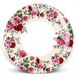 Тарелка бумажная ГИФТ (д=170, д=210, д=230) Розы
