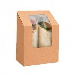 Коробка для салат-роллов 90*50*90