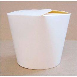 Коробка для лапши 700 мл без печати 94*98*138