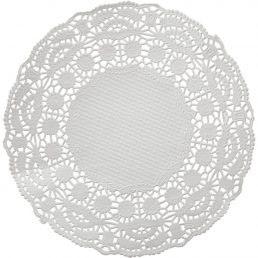 Салфетка ажурная круглая (д=9 — 36 см)