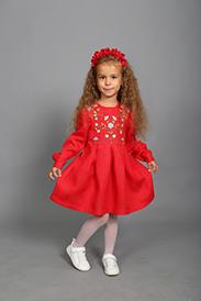Платье для девочки модель 228-17
