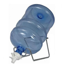 Кран-клапан с подставкой металлической (комплект)