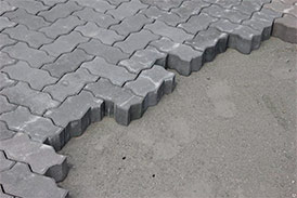 Плиты бетонные для тротуаров 2Ф24.12.8-Ма, 8-МЦ-ка Волна