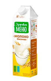 Молоко овсяное ЗДОРОВОЕ МЕНЮ