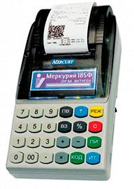 Кассовые аппараты для торговли Меркурий - 185Ф