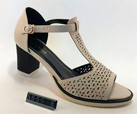 Туфли женские KOROLEVA 5555-8 бежевые