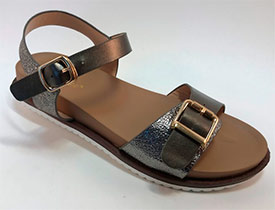 Туфли женские KOROLEVA 90675-5 серебро