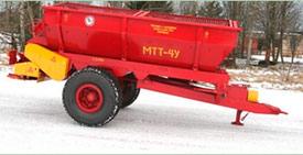 Запчасти к машине для внесения минеральных удобрений МТТ-4У