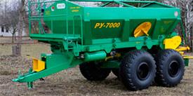 Запчасти к машине для внесения минеральных удобрений РУ 7000