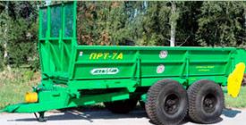 Запчасти к ПРТ 7А. Машина для внесения твердых органических удобрений