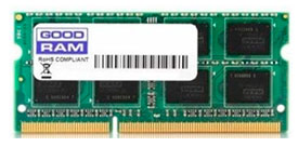 Оперативная память GOODRAM 8GB DDR3 SO-DIMM PC3-12800 [GR1600S3V64L11/8G]