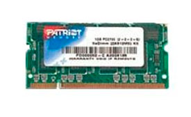 Оперативная память Patriot 1GB DDR PC-3200 [PSD1G400]