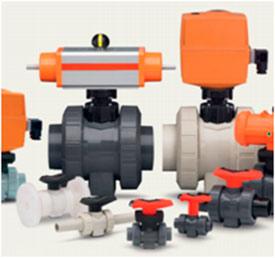 Шаровый клапан PVC-C