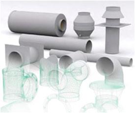 Система полимерная PP вентиляционная химстойкая