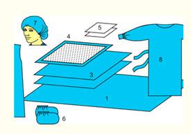 Комплект белья акушерского одноразовый стерильный № 4 ТУ РБ 800015628.0001-2003