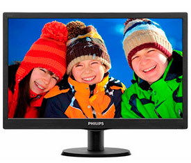 "Монитор Philips 18.5"" 193V5LSB2 10/62"
