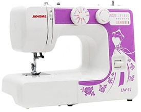 Швейная машинка Janome LW 17 15on n/n/a