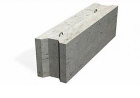 Блоки бетонные для стен подвалов серия Б1.016.1-1