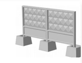 Железобетонные элементы оград