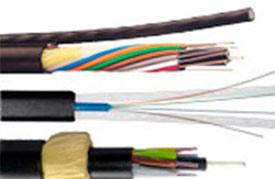 Оптический кабель подвесной ВОК