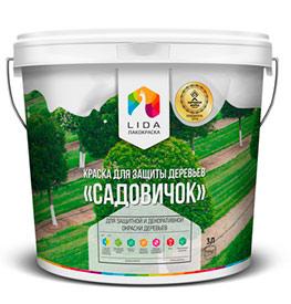 Краска для защиты деревьев Садовичок