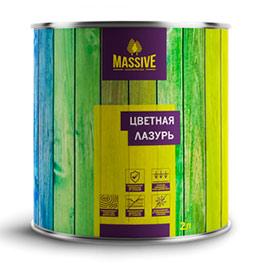 Цветная лазурь MASSIVE