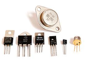 Транзистор биполярный германиевый КТ