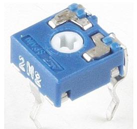 Резистор подстроечный CA6