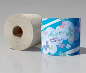 Бумага туалетная с гильзой светлая 160г арт. 9С20705 - ОАО Альбертин (Беларусь)