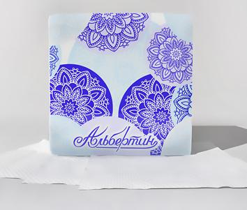 Салфетки бумажные сервировочные белые Rita по 50 шт. 230х230 арт.11С5705 - ОАО Альбертин (Беларусь)