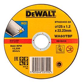 Круг отрезной по металлу DT42340Z-QZ