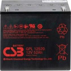 Аккумулятор для ИБП CSB GPL12520 (12В/52 А·ч)