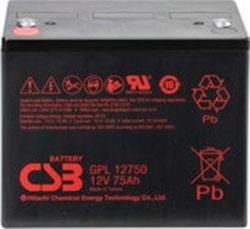 Аккумулятор для ИБП CSB GPL12750 (12В/80 А·ч)