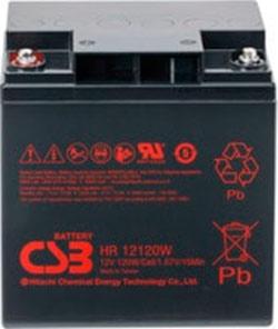 Аккумулятор для ИБП CSB HR12120W F2 (12В/28 А·ч)