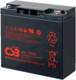 Аккумулятор для ИБП CSB HRL1280W (12В/18 А·ч)