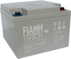 Аккумулятор для ИБП FIAMM 12FGL27 (12В/27 А·ч)